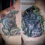 Фото Исправление и перекрытие старых тату - 12062017 - пример - 135 tattoo cover up