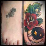 Фото Исправление и перекрытие старых тату - 12062017 - пример - 137 tattoo cover up
