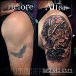Фото Исправление и перекрытие старых тату - 12062017 - пример - 139 tattoo cover up