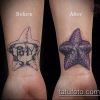 Исправление и перекрытие старых татуировок