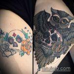 Фото Исправление и перекрытие старых тату - 12062017 - пример - 149 tattoo cover up