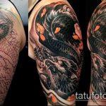 Фото Исправление и перекрытие старых тату - 12062017 - пример - 155 tattoo cover up