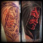Фото Исправление и перекрытие старых тату - 12062017 - пример - 161 tattoo cover up