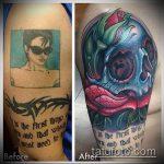 Фото Исправление и перекрытие старых тату - 12062017 - пример - 162 tattoo cover up