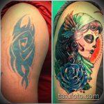Фото Исправление и перекрытие старых тату - 12062017 - пример - 165 tattoo cover up