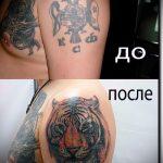 Фото Исправление и перекрытие старых тату - 12062017 - пример - 170 tattoo cover up