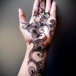 Фото Мехенди перо - 05062017 - пример - 029 Mehendi Feather