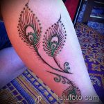 Фото Мехенди перо - 05062017 - пример - 043 Mehendi Feather