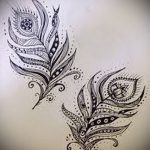 Фото Мехенди перо - 05062017 - пример - 061 Mehendi Feather