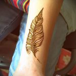 Фото Мехенди перо - 05062017 - пример - 062 Mehendi Feather