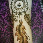 Фото Мехенди перо - 05062017 - пример - 064 Mehendi Feather