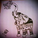 Фото Мехенди слон - 04062017 - пример - 002 Mehendi Elephant