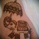 Фото Мехенди слон - 04062017 - пример - 003 Mehendi Elephant