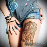 Фото Мехенди слон - 04062017 - пример - 011 Mehendi Elephant