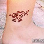 Фото Мехенди слон - 04062017 - пример - 013 Mehendi Elephant