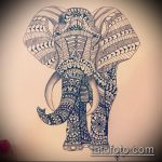 Фото Мехенди слон - 04062017 - пример - 014 Mehendi Elephant