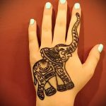 Фото Мехенди слон - 04062017 - пример - 017 Mehendi Elephant