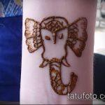 Фото Мехенди слон - 04062017 - пример - 019 Mehendi Elephant