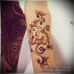 Фото Мехенди слон - 04062017 - пример - 020 Mehendi Elephant.-She-found-a-picture-of-a-henna-tattoo-with-an-elephant