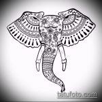 Фото Мехенди слон - 04062017 - пример - 022 Mehendi Elephant.u3