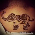 Фото Мехенди слон - 04062017 - пример - 023 Mehendi Elephant