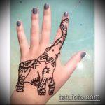 Фото Мехенди слон - 04062017 - пример - 029 Mehendi Elephant