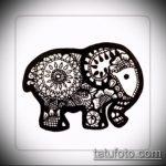 Фото Мехенди слон - 04062017 - пример - 040 Mehendi Elephant.u2