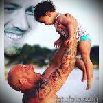 Фото Татуировки Вин Дизеля - 16062017 - пример - 010 Vin Diesel Tattoo