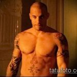 Фото Татуировки Вин Дизеля - 16062017 - пример - 011 Vin Diesel Tattoo