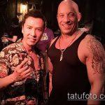 Фото Татуировки Вин Дизеля - 16062017 - пример - 019 Vin Diesel Tattoo