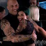 Фото Татуировки Вин Дизеля - 16062017 - пример - 020 Vin Diesel Tattoo