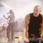Фото Татуировки Вин Дизеля - 16062017 - пример - 022 Vin Diesel Tattoo