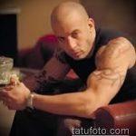 Фото Татуировки Вин Дизеля - 16062017 - пример - 026 Vin Diesel Tattoo