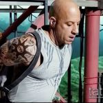 Фото Татуировки Вин Дизеля - 16062017 - пример - 030 Vin Diesel Tattoo