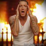 Фото Татуировки Эминема - 27062017 - пример - 009 Eminem's Tattoo_tatufoto.com