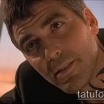 Фото Тату Джорджа Клуни - 22062017 - пример - 003 George Clooney Tattoo_tatufoto.com