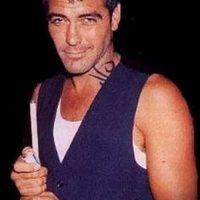 Тату Джорджа Клуни