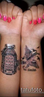 Фото Тату со значением свобода – 01062017 – пример – 014 Freedom tattoo