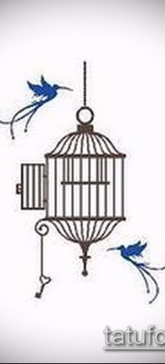 Фото Тату со значением свобода – 01062017 – пример – 029 Freedom tattoo