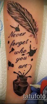 Фото Тату со значением свобода – 01062017 – пример – 052 Freedom tattoo