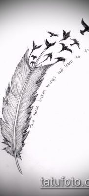 Фото Тату со значением свобода – 01062017 – пример – 086 Freedom tattoo