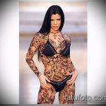 Фото готической татуировки - 30052017 - пример - 003 Gothic tattoo