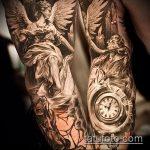 Фото готической татуировки - 30052017 - пример - 009 Gothic tattoo