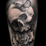 Фото готической татуировки - 30052017 - пример - 014 Gothic tattoo