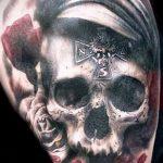 Фото готической татуировки - 30052017 - пример - 015 Gothic tattoo
