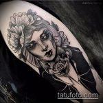 Фото готической татуировки - 30052017 - пример - 016 Gothic tattoo