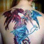 Фото готической татуировки - 30052017 - пример - 027 Gothic tattoo