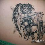 Фото готической татуировки - 30052017 - пример - 029 Gothic tattoo