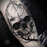 Фото готической татуировки - 30052017 - пример - 031 Gothic tattoo