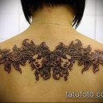 Фото готической татуировки - 30052017 - пример - 034 Gothic tattoo
